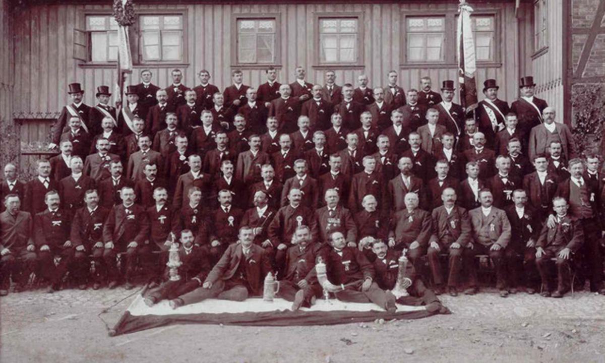 Gruppenfoto Frühes 20. Jahrhundert
