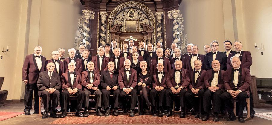 Gruppenbild zum 150-jährigem Jubiläum 2014