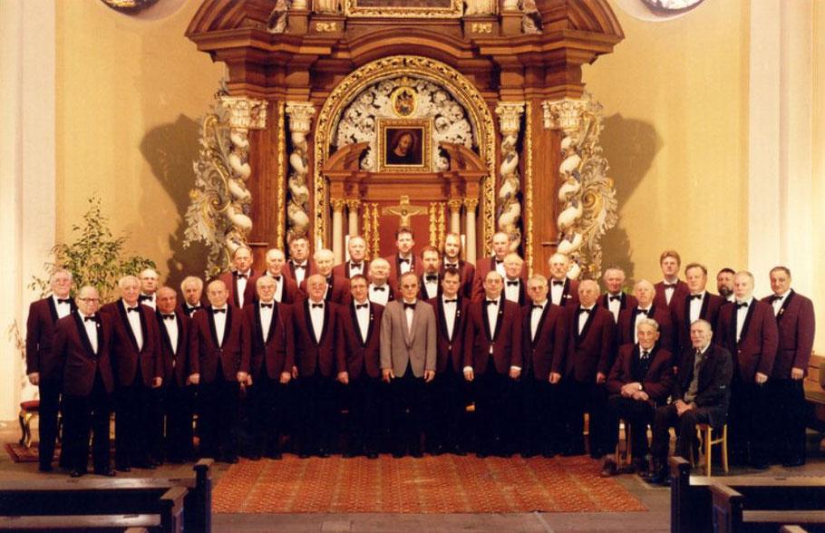 In der Katholischen Pfarrkirche zum 130-jährigen Jubiläum 1994