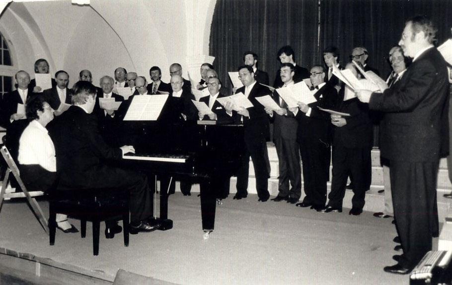 Konzert im Nonnenchor Wöltingerode 1983