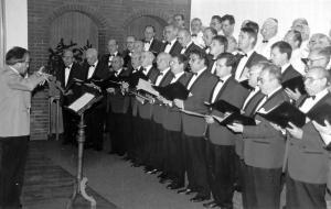 Liederabend 1993 Chorleitung Jürgen Schader