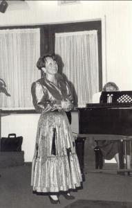 "Liederabend 1993 Solo Herma Völker ""Tonight"" aus der Westside Story"