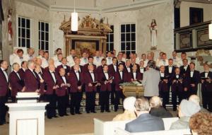 Adventskonzert in der Kirche Gethsemane in Wolfenbüttel 1995