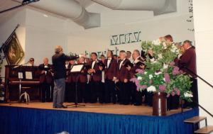 Freundschaftssingen in Gronau 1996