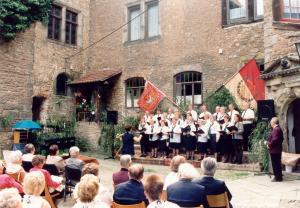 135 - jähriges Jubiläum 1998 Gastchor gemischter Chor Wiedelah