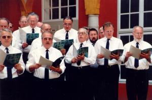 Singen im Wolfenbüttler Schloß 1993